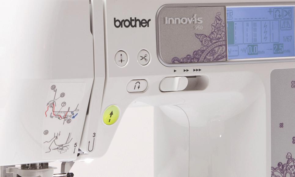 Innov-is 950 швейно-вышивальная машина  5
