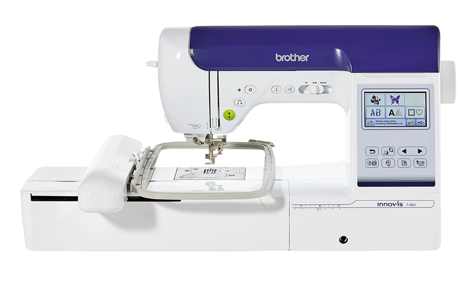 Innov-is F480 sewing and embroidery combination machine