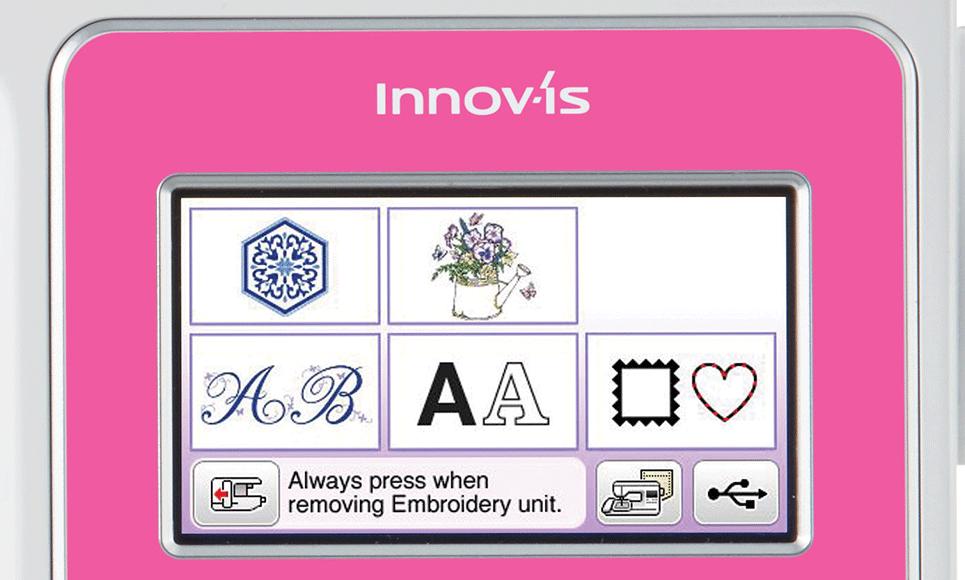 Innov-is M270 швейно-вышивальная машина  7