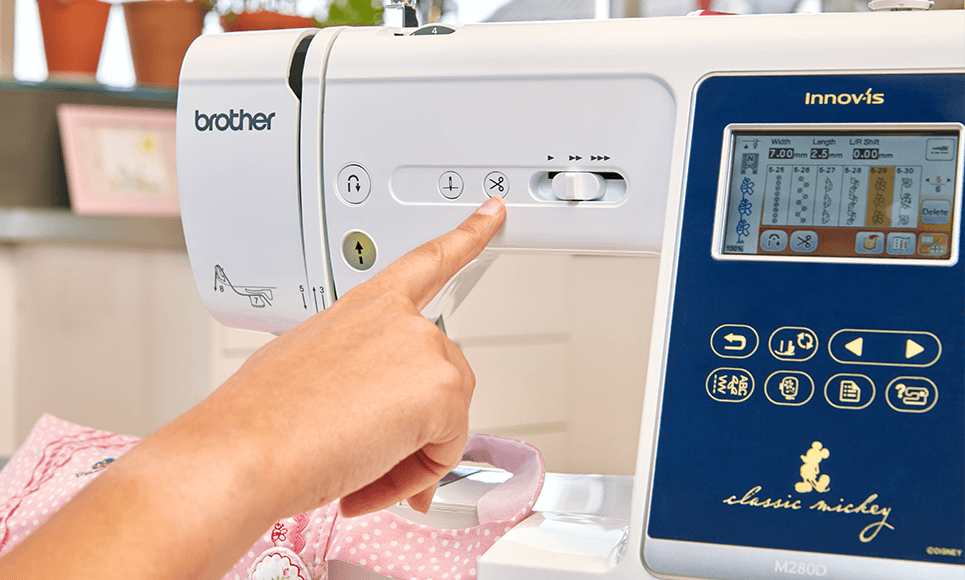Innov-is M280D sewing and embroidery machine 5