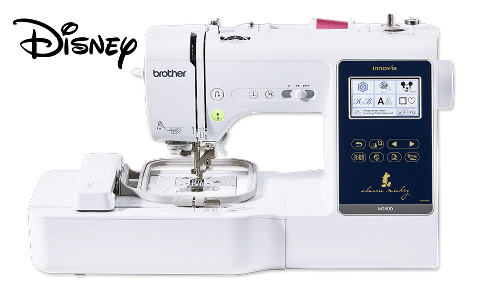 Innov-is M280D sewing and embroidery machine 3