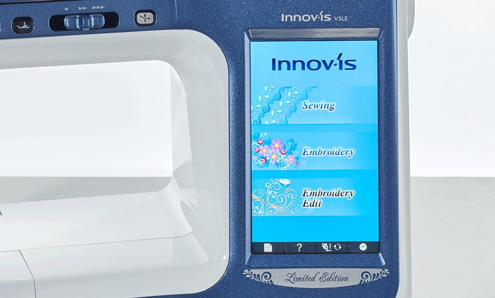 Innov-is V5LE naai-, quilt- en borduurmachine 3