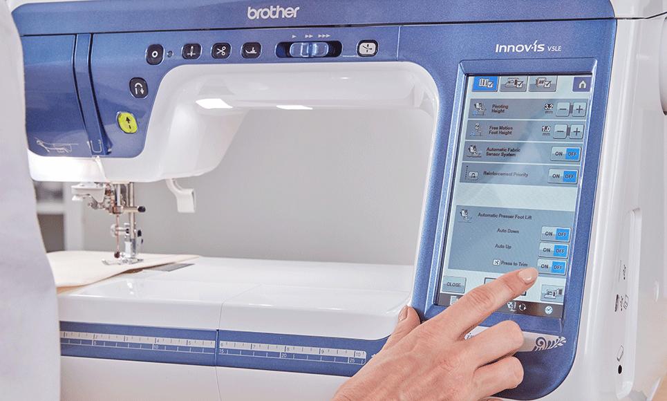 Innov-is V5LE naai-, quilt- en borduurmachine 8