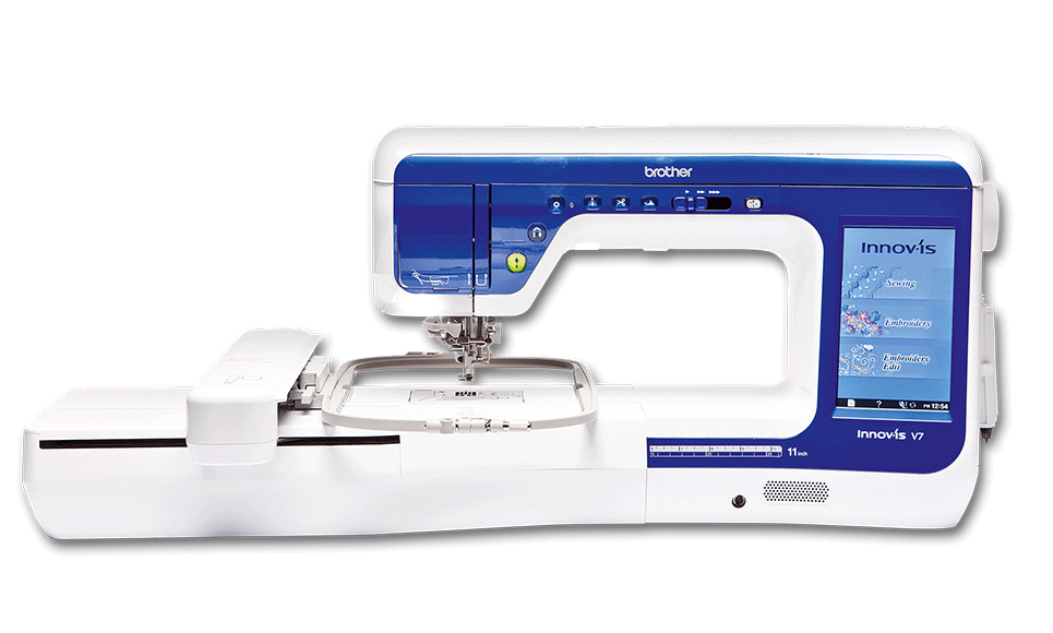 Innov-is V7 sewing, quilting and embroidery machine