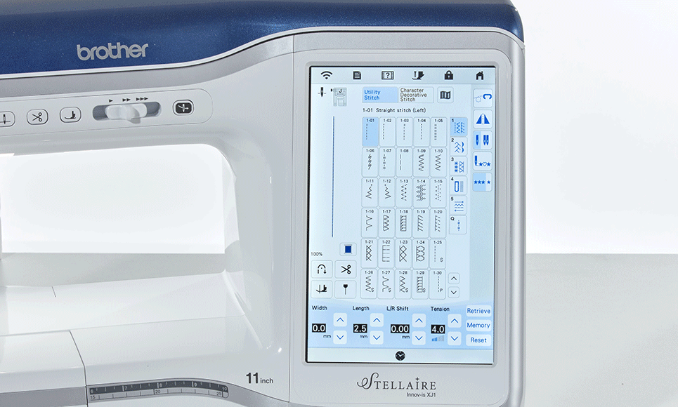 Innov-is Stellaire XJ1 sewing, quilting and embroidery machine 10