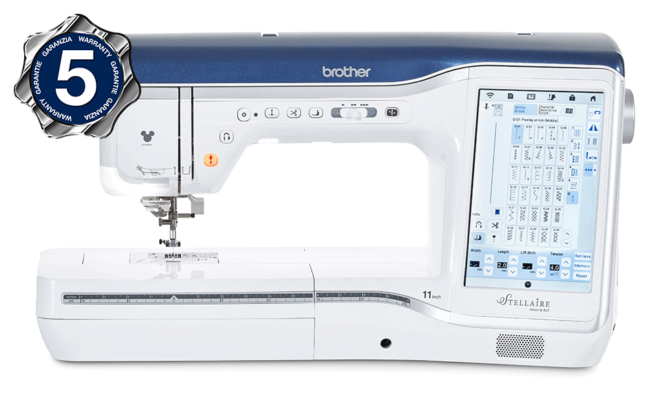 Innov-is Stellaire XJ1 sewing, quilting and embroidery machine 2