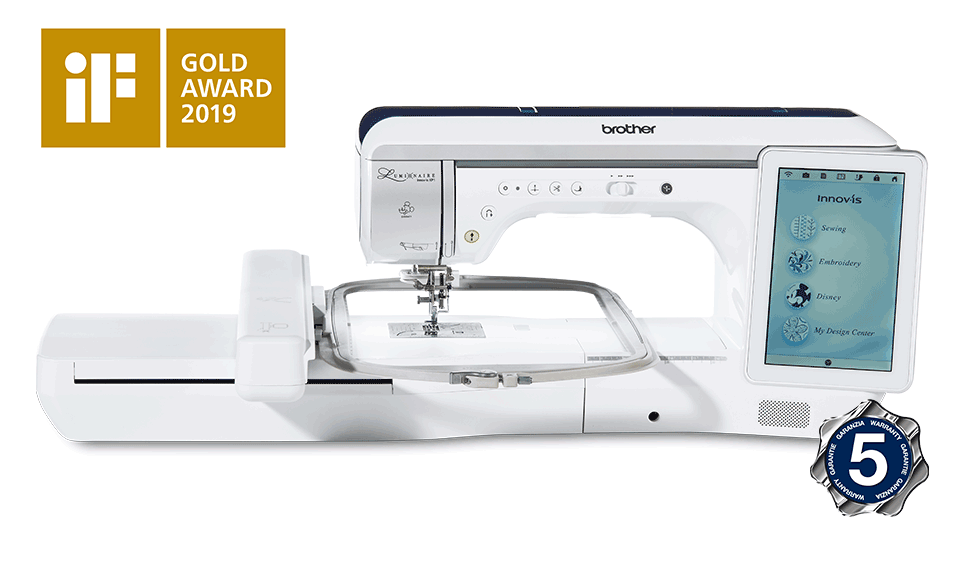 Luminaire Innov-is XP1 Sewing, Quilting and Embroidery Machine