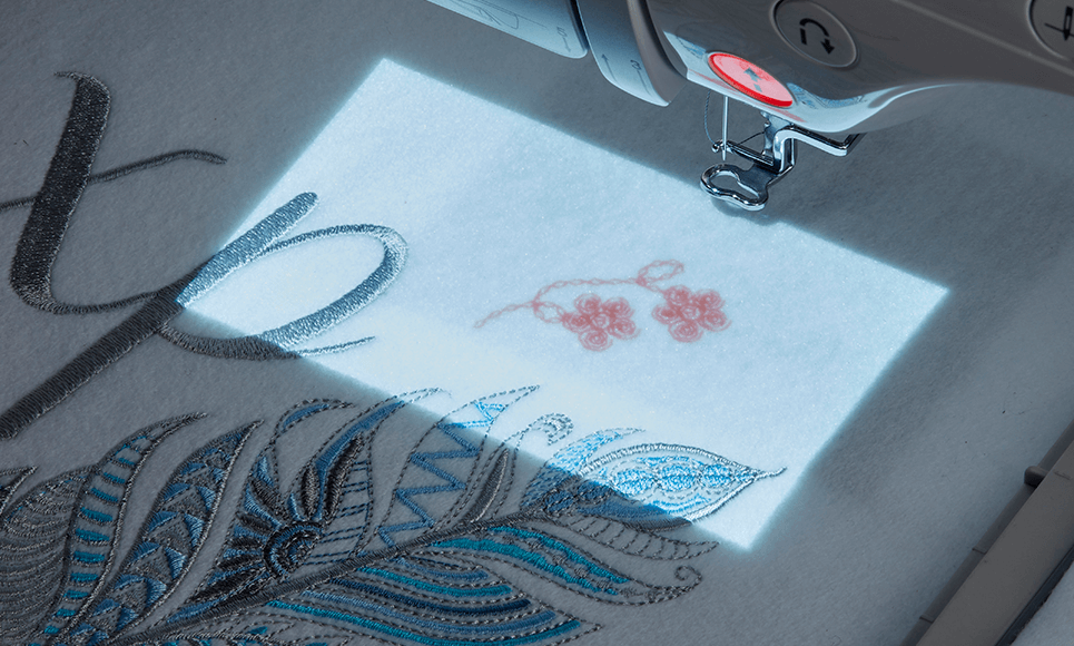 Luminaire Innov-is XP1 Sewing, Quilting and Embroidery Machine 6