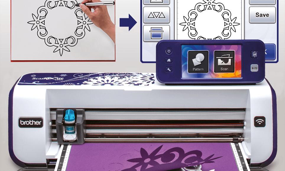 ScanNCut CM900 home and hobby cutting machine 6