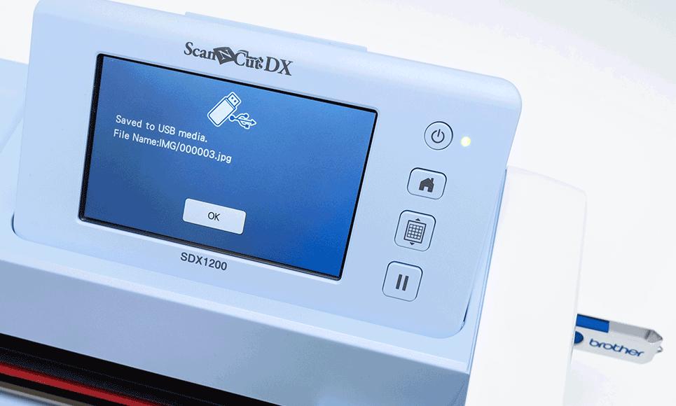 ScanNCut SDX1000 Schneidemaschine für Heim- und Hobbybereich 6