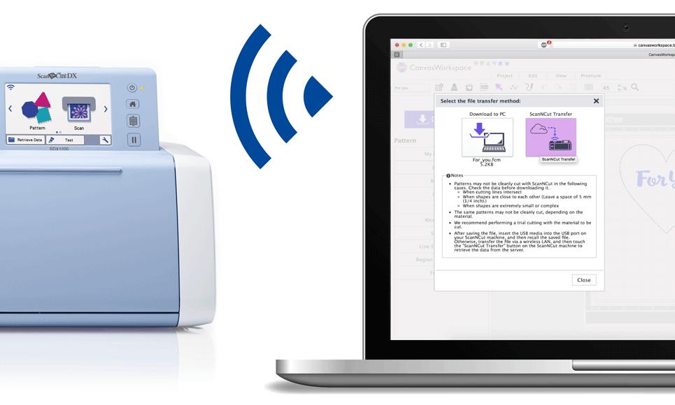ScanNCut DX SDX1200 Machine de découpe & traçage personnelle 8