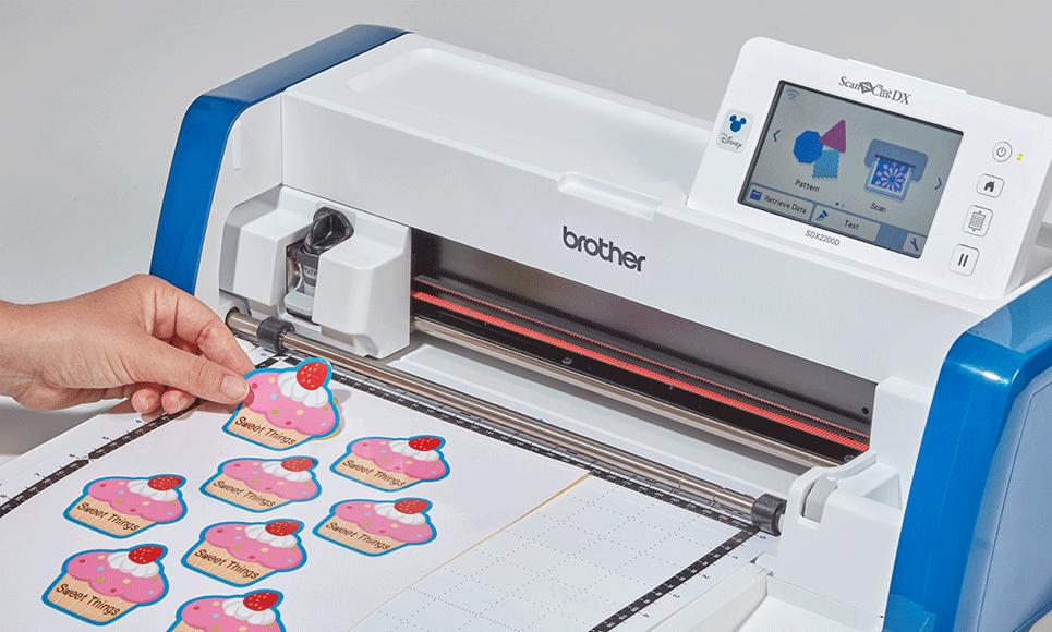 ScanNCut SDX2200D Disney Machine de découpe & traçage personnelle 7