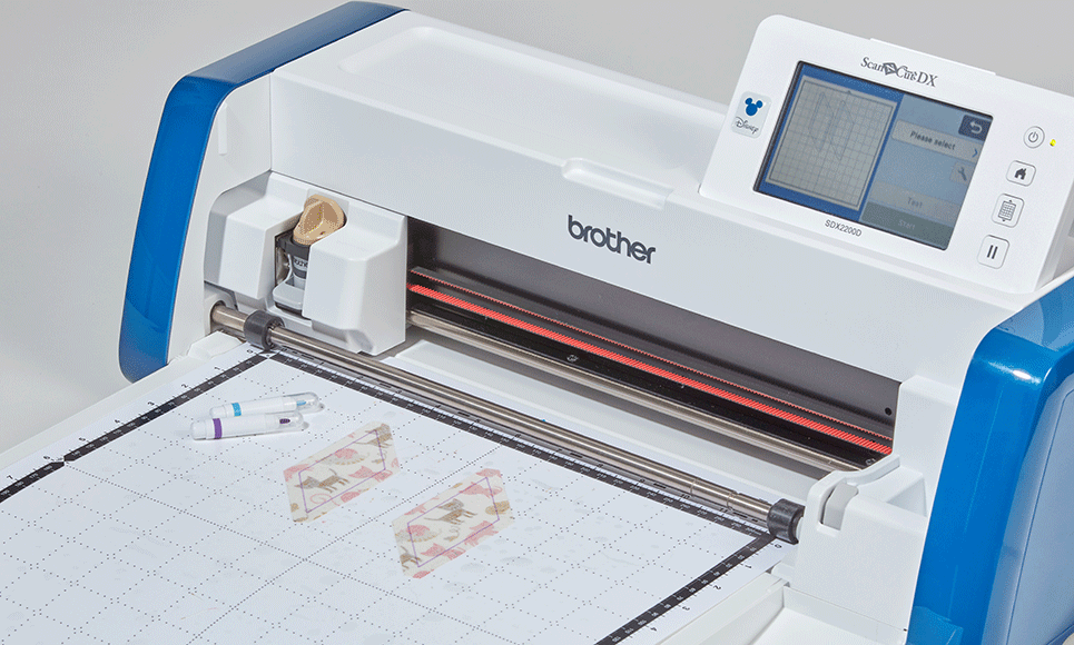 ScanNCut SDX2200D Disney thuis- en hobby-snijmachine  8