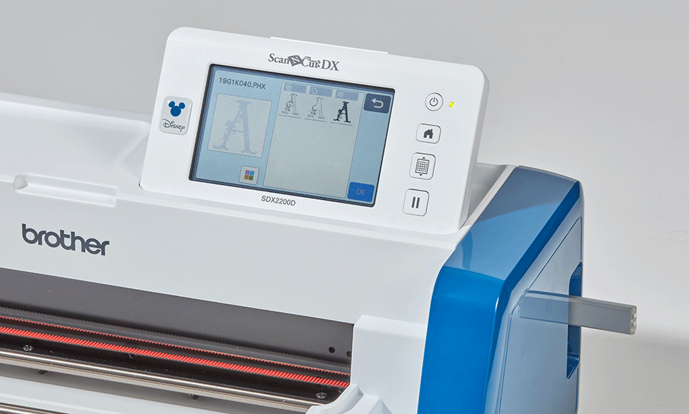 ScanNCut SDX2200D Disney Machine de découpe & traçage personnelle 9