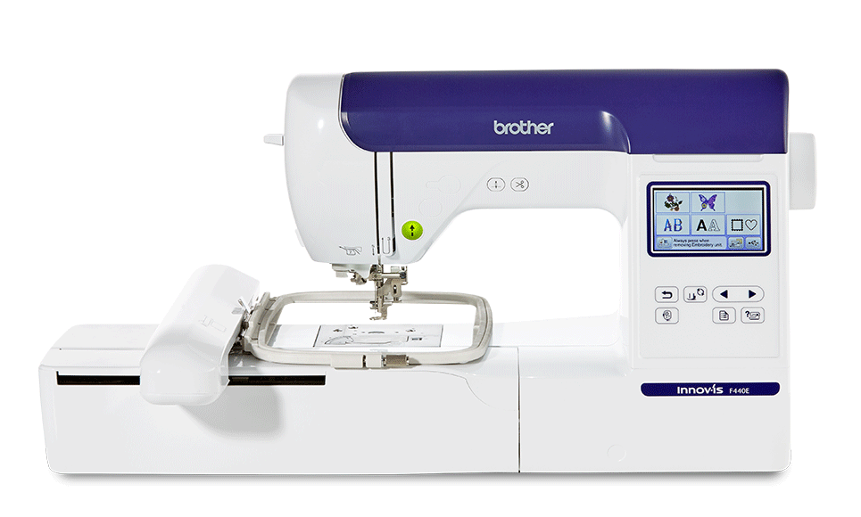 Innov-is F440E embroidery machine for beginners and intermediates