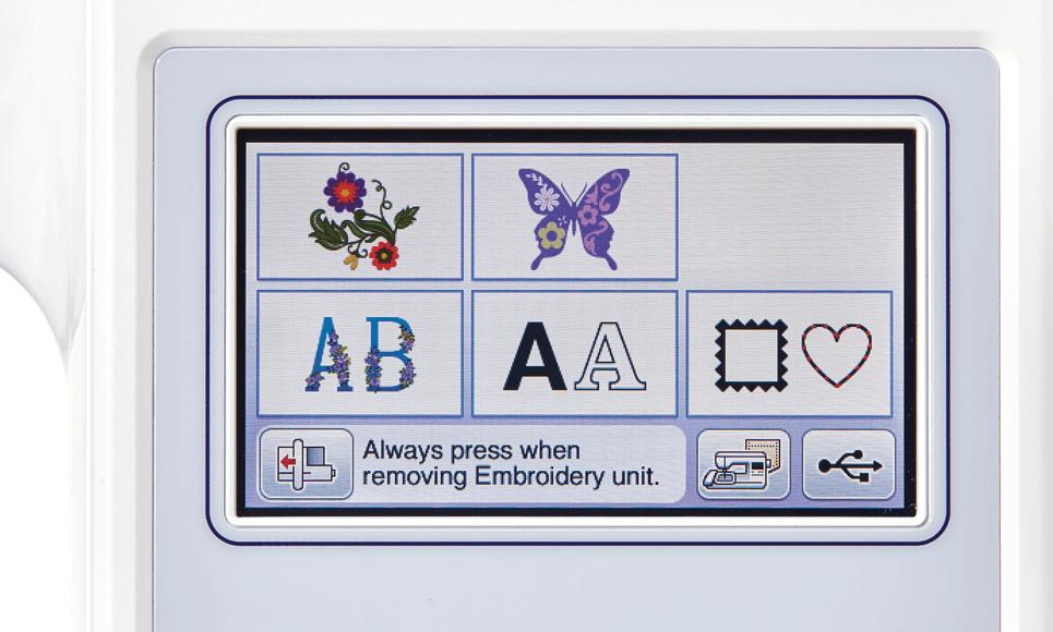 Innov-is F440E embroidery machine 3
