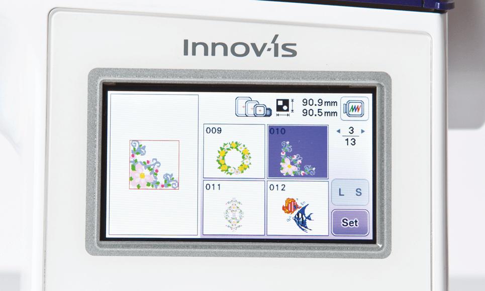 Innov-is NV800E Stickmaschine 3