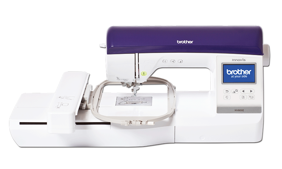 Innov-is NV800E embroidery machine for intermediate and advanced