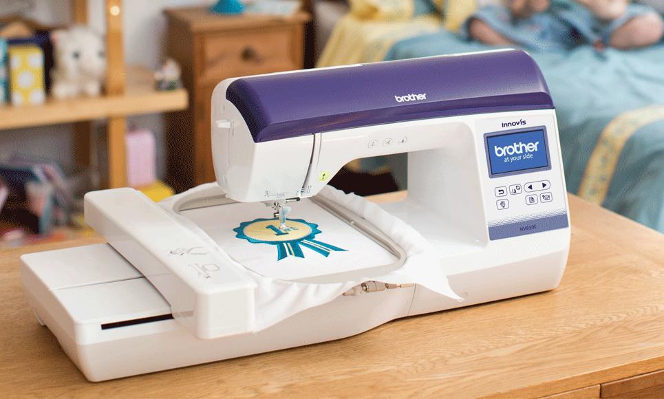 Innov-is NV850E вышивальная машина  7