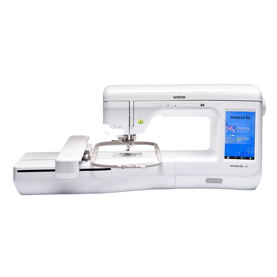 Innov-is V3 embroidery machine with frame
