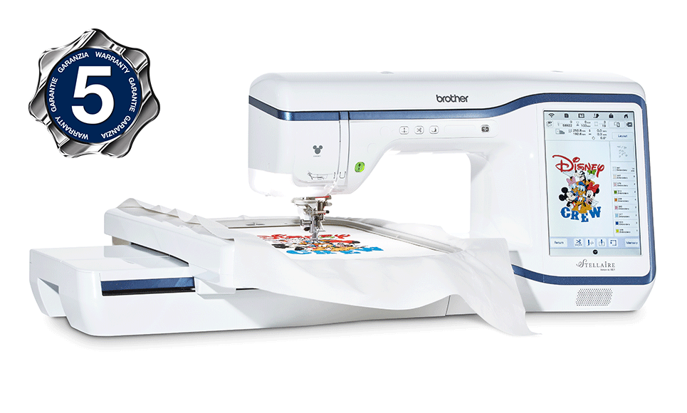Brother Stellaire Innov-is XE1 embroidery machine