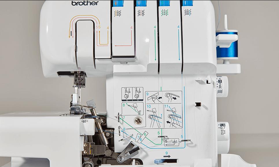 3034DWT Overlockmachine 3