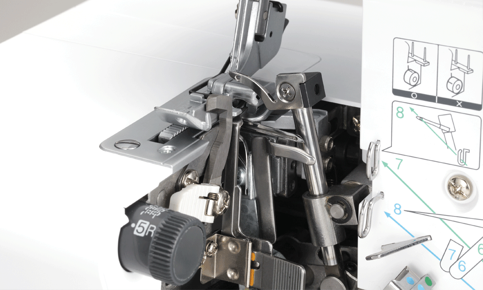 HF4000ST оверлок  5
