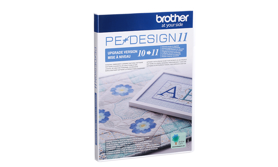 Software per ricamo PE-Design Upgrade Kit