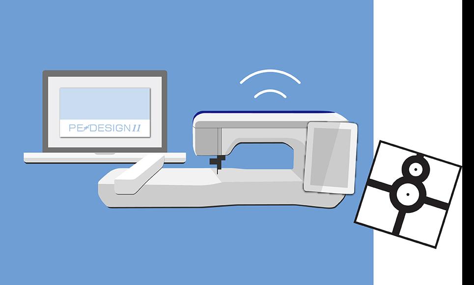Software per ricamo PE-Design Upgrade Kit 7