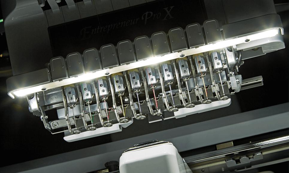 PR1050X embroidery machine 6