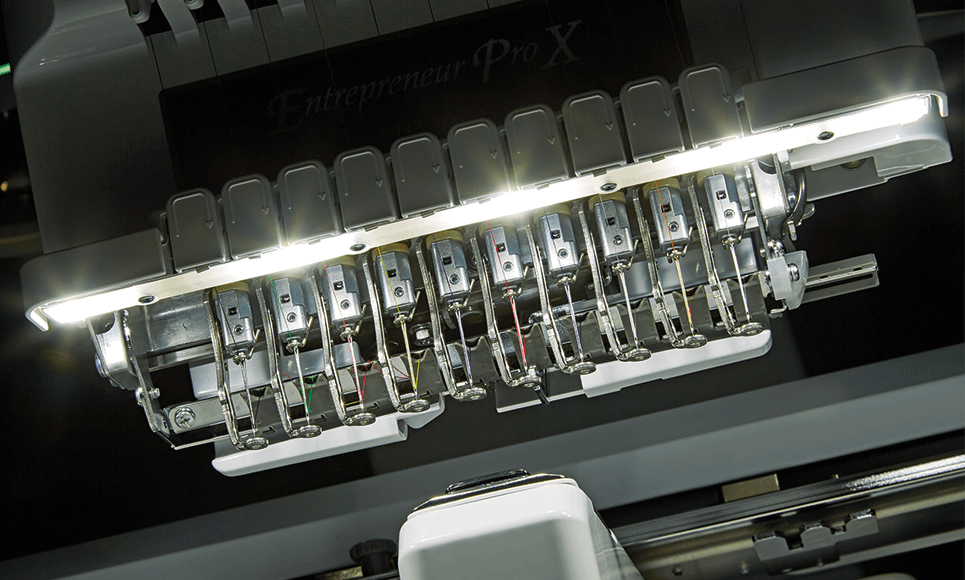 PR1050X embroidery machine 6