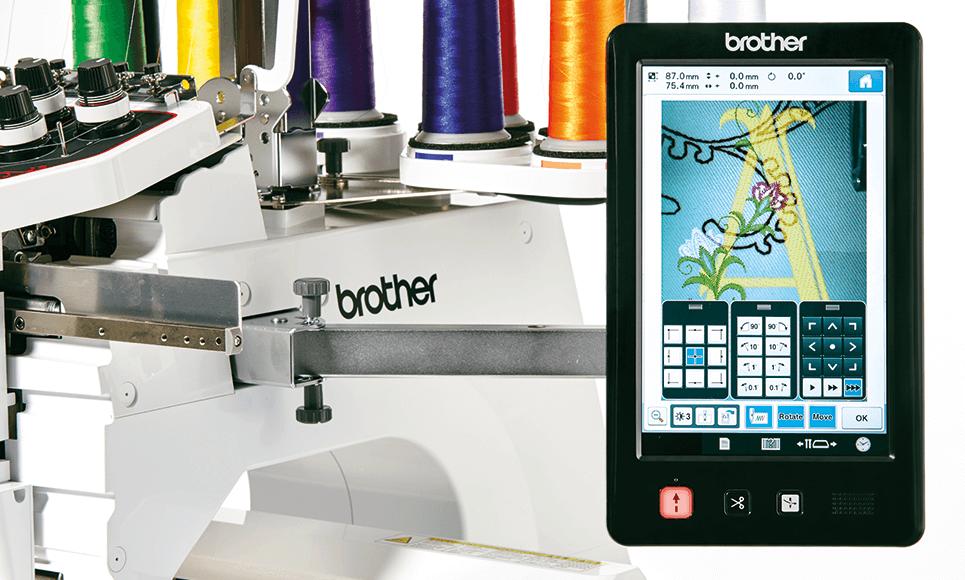 PR1050X embroidery machine 7
