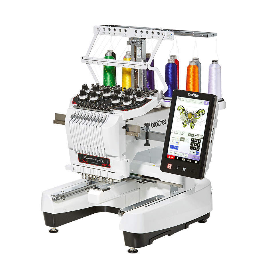 PR1050X embroidery machine