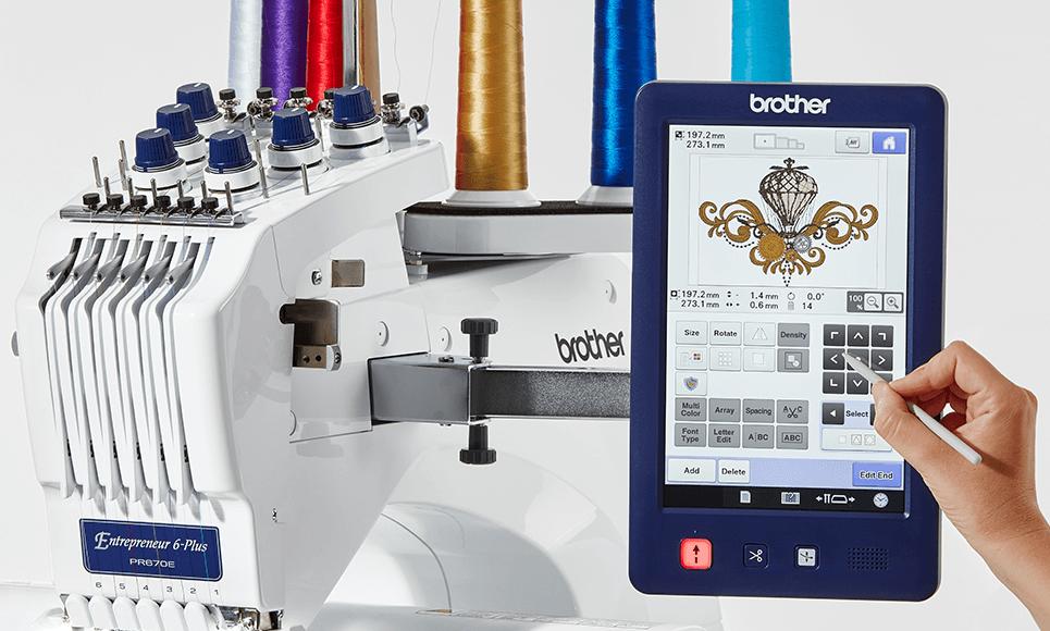 PR670E borduurmachine 3