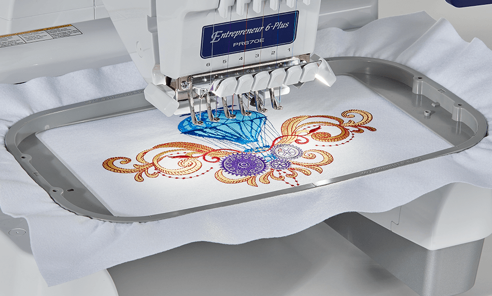 PR670E embroidery machine 6