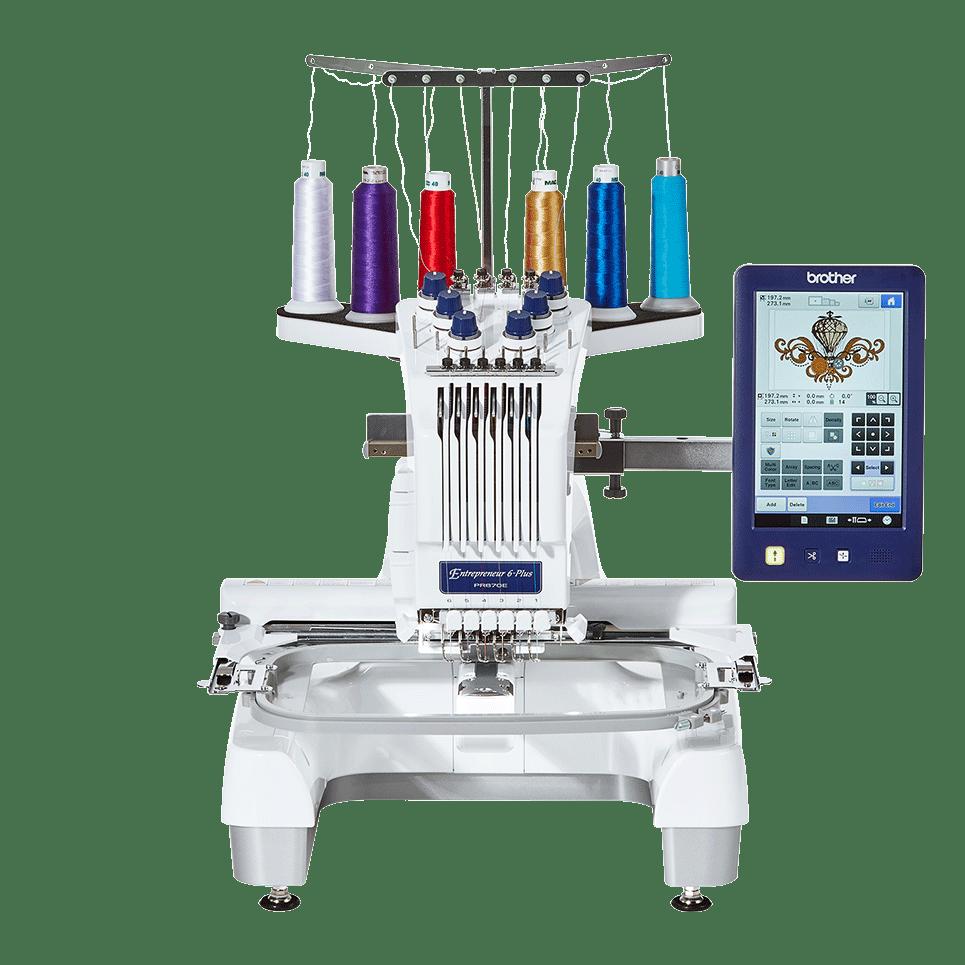 PR670E embroidery machine