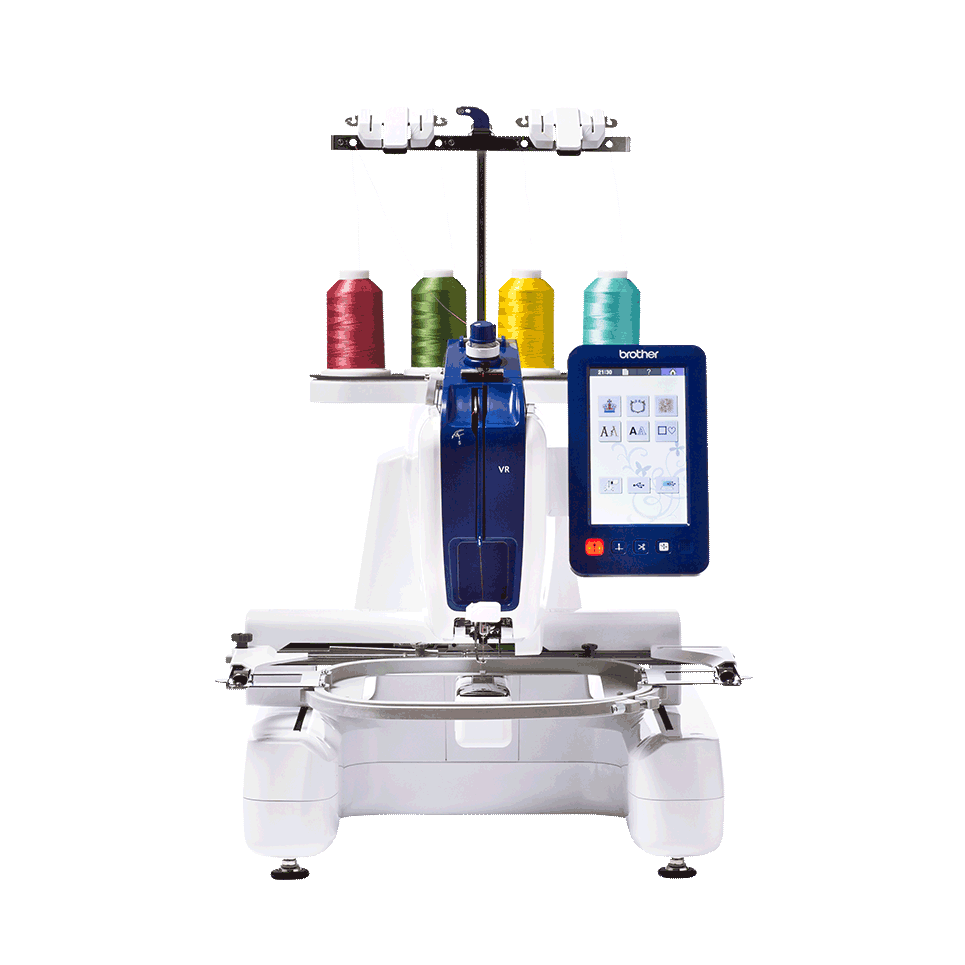 Brother VR single needle embroidery and free-motion quilting machine