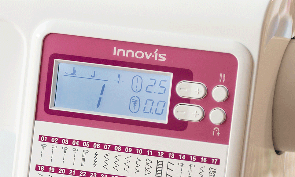 Innov-is A50 sewing machine 5