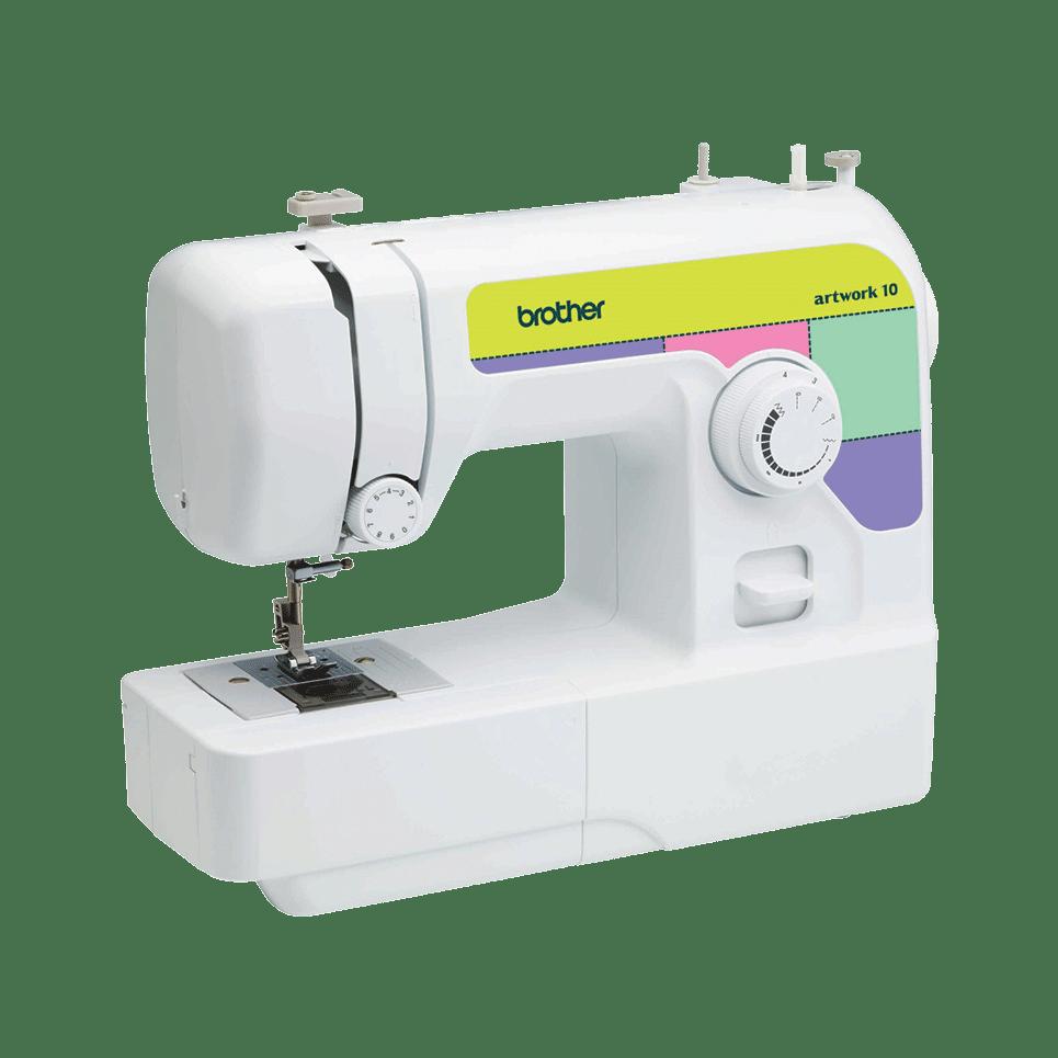 Электромеханическая швейная машина artwork 10 вид под углом