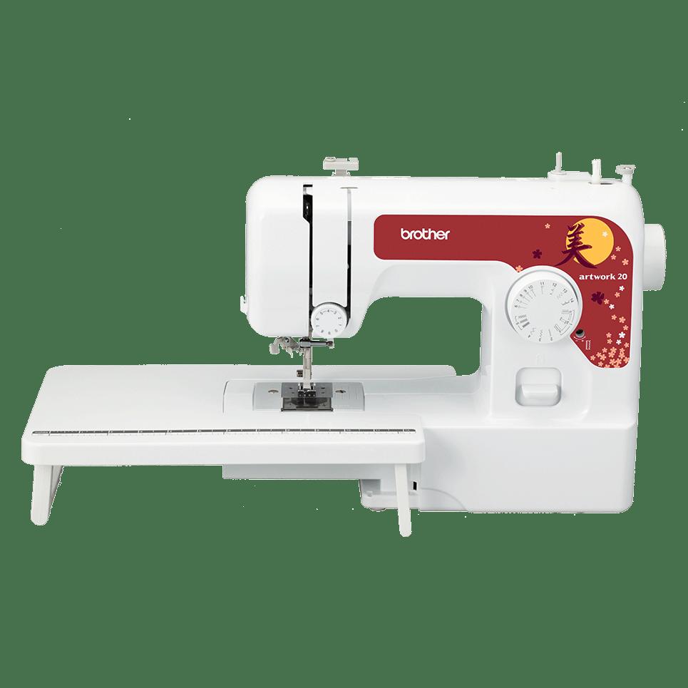 Электромеханическая швейная машина artwork 20 вид спереди