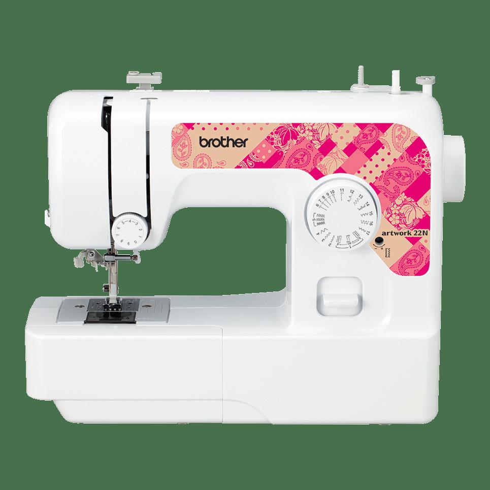Электромеханическая швейная машина artwork 22N вид спереди