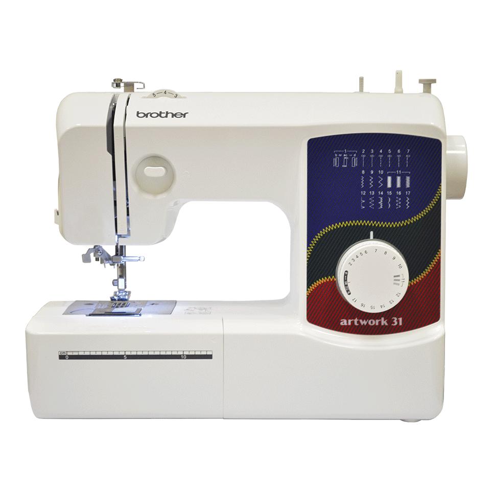 Электромеханическая швейная машина artwork 31 вид спереди