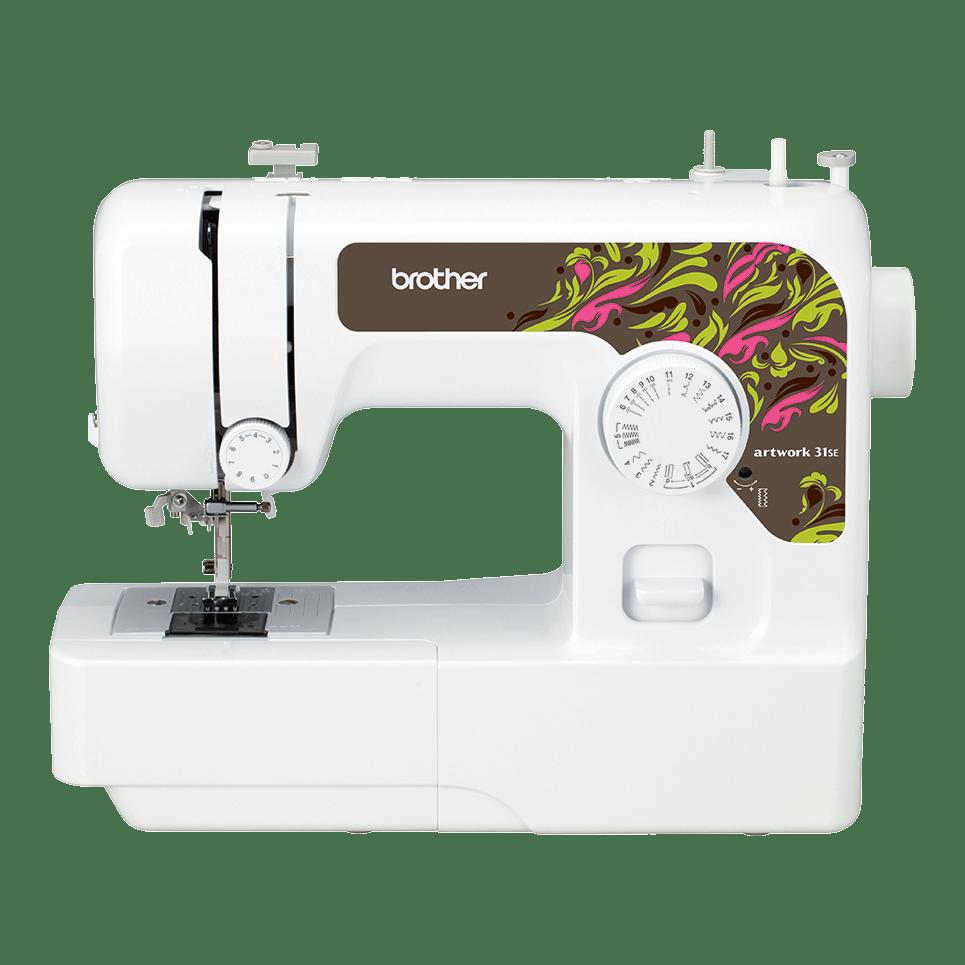 Электромеханическая швейная машина artwork 31SE вид спереди