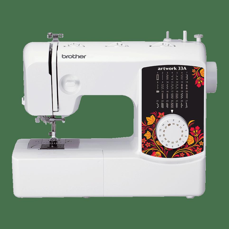 Электромеханическая швейная машина artwork 33A вид спереди
