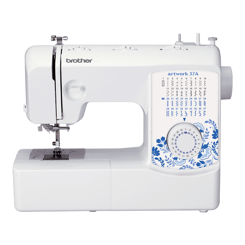 Электромеханическая швейная машина artwork 37A вид спереди