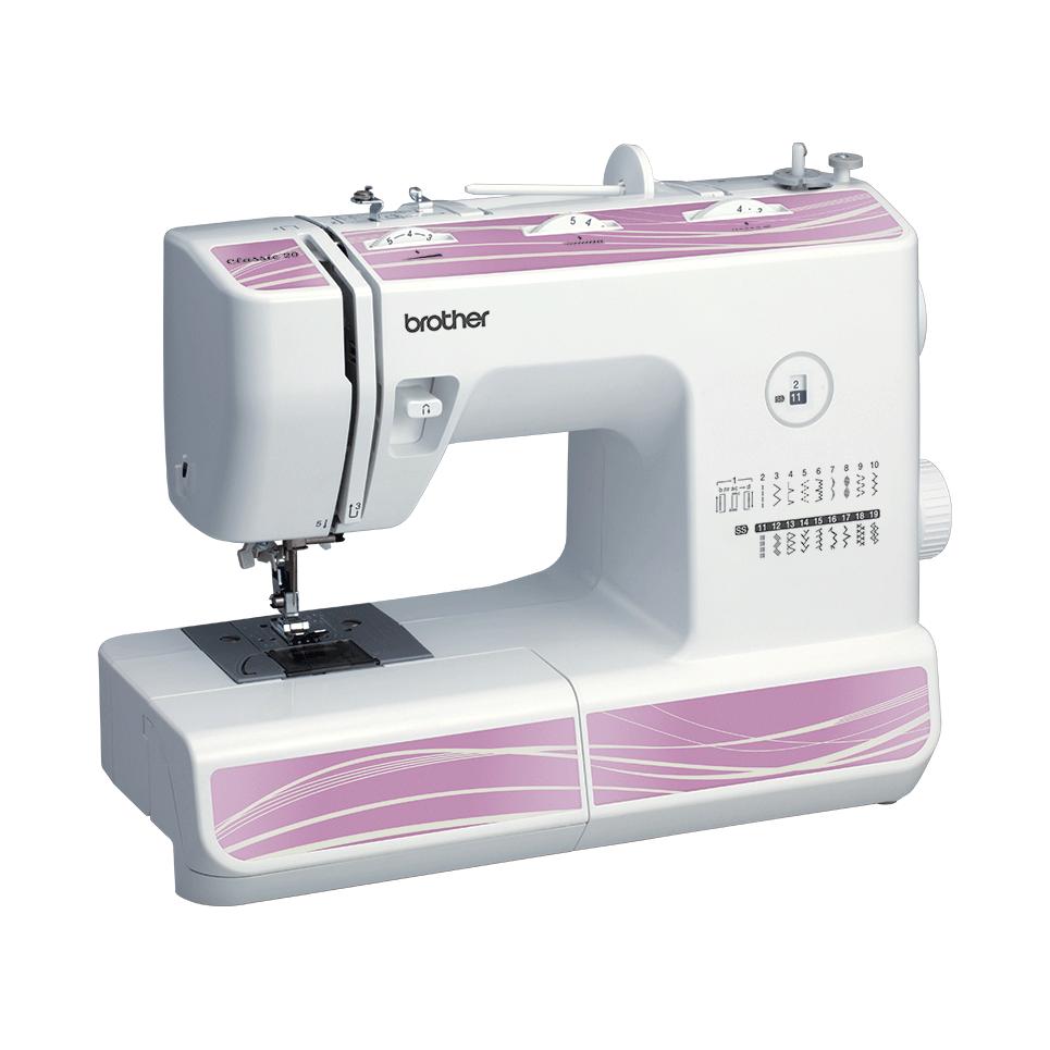 Classic 20 электромеханическая швейная машина  6