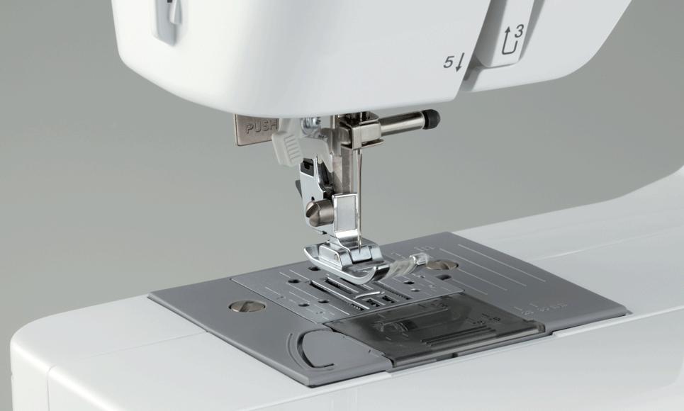 Elite 55 электромеханическая швейная машина  3