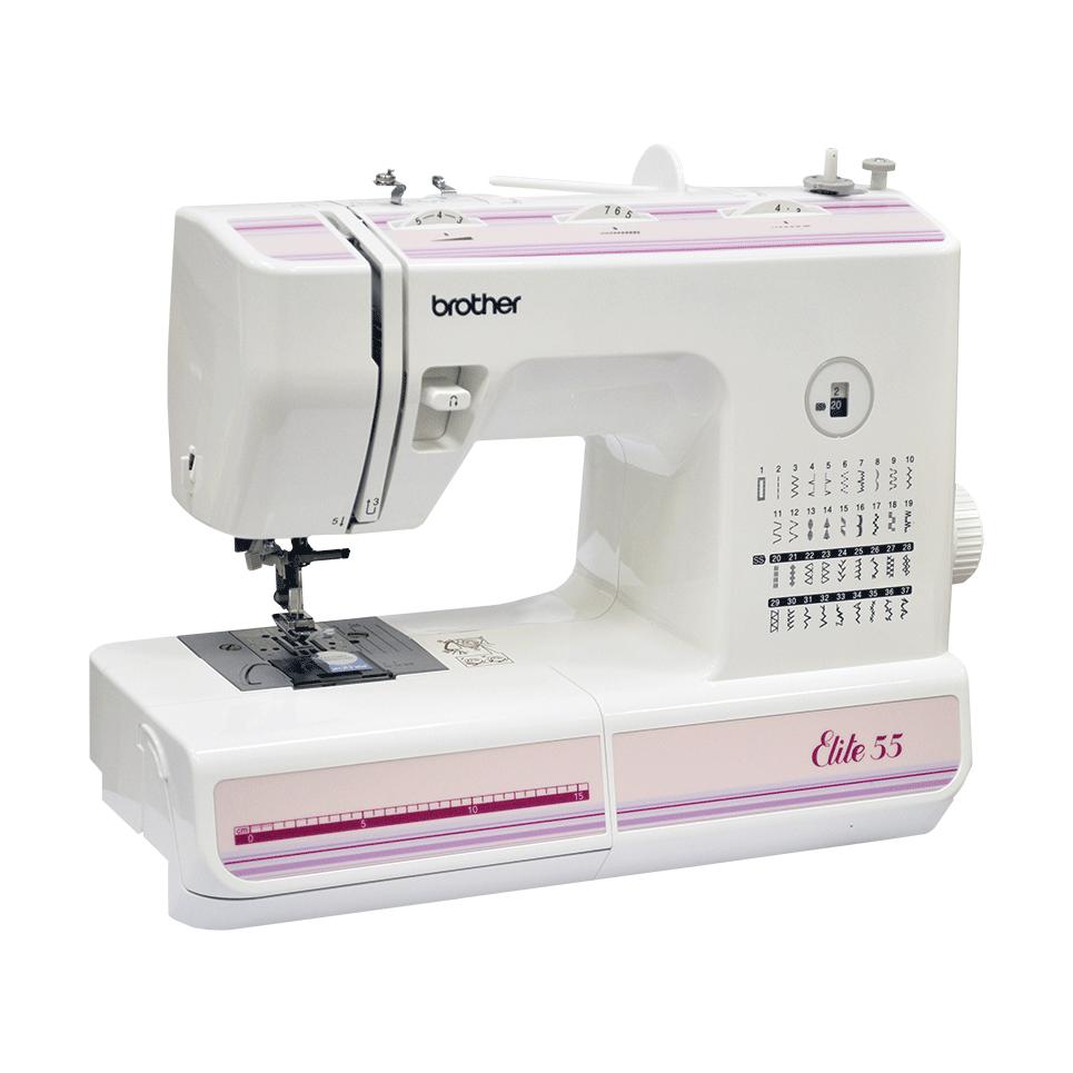 Elite 55 электромеханическая швейная машина  6