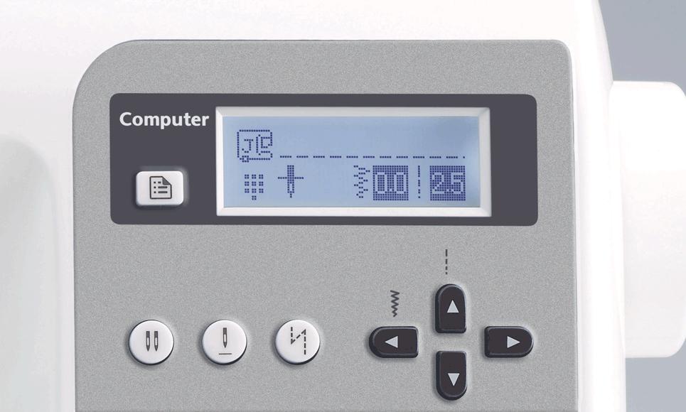 Elite 95E компьютеризованная швейная машина  2