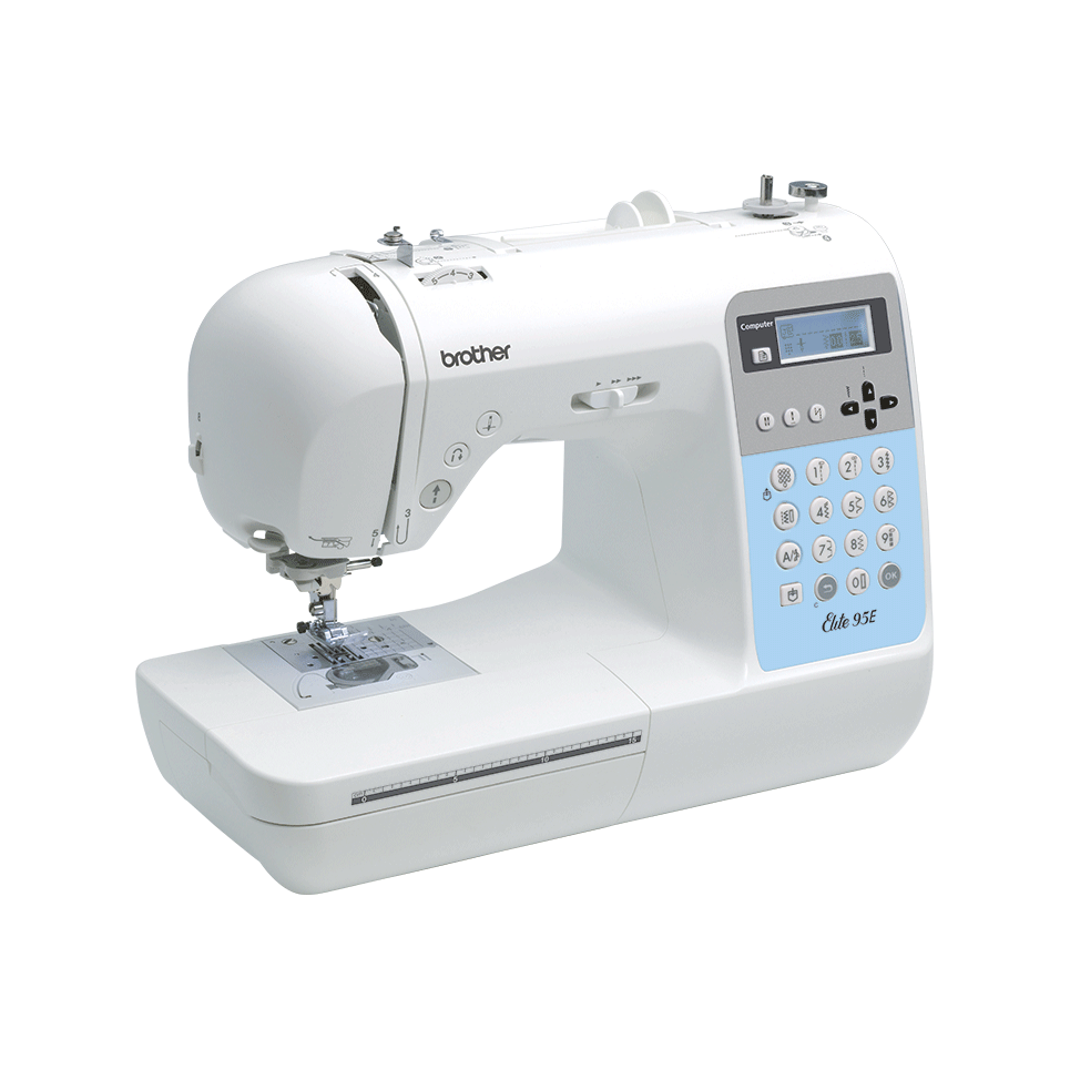 Elite 95E компьютеризованная швейная машина  8